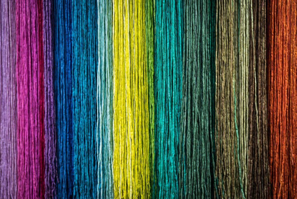 Producción de fibras