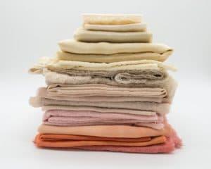 producción textil materiales
