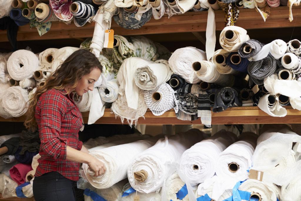 cómo funciona una empresa textil por dentro