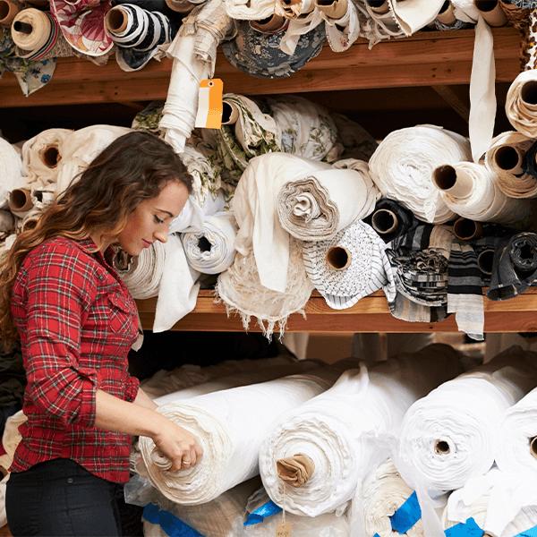 cómo funciona una fabrica textil por dentro