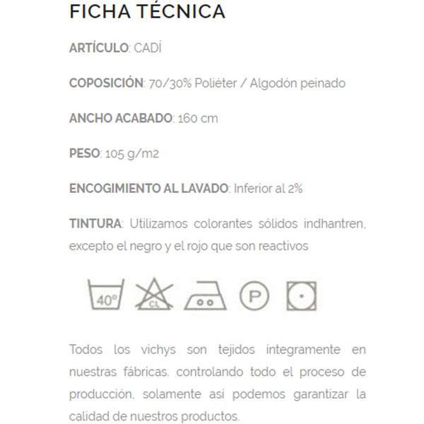 cadi productos cómo elaborar ficha técnica de productos textiles