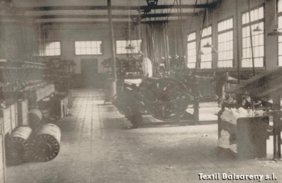 1945 Recorrido de la empresa Tèxtil Balsareny