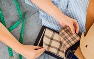 Portada distribuidor de tejidos empresa Textil Balsareny Distribuidor de tejidos empresa: Los uniformes con nuestras telas Vichy
