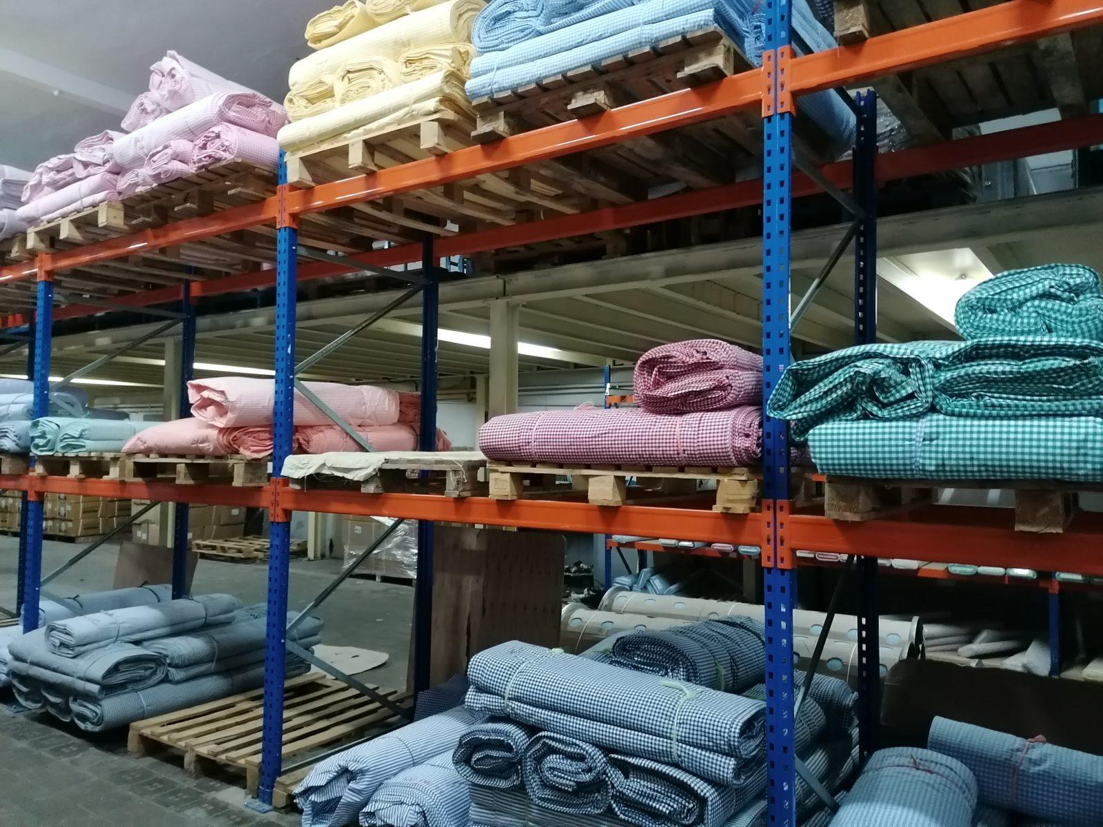 Telas vichy de colores almacenadas Telas cuadros Vichy algodón: tipos y modelos