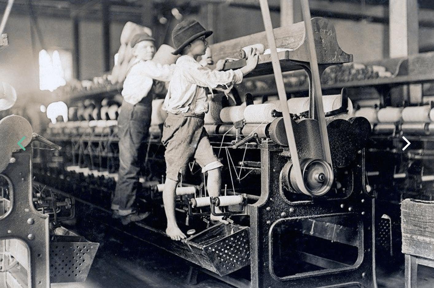 ninos trabajando en la fabrica de Textil Balsareny en los anos 20 Quiénes somos