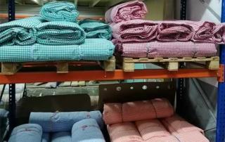 seleccion de telas de vichy de algodon Telas cuadros Vichy algodón: tipos y modelos