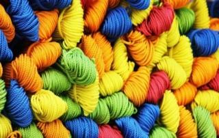 yarn 166877 1920 2 Producción de fibras y filamentos: naturales, artificiales o sintéticos.