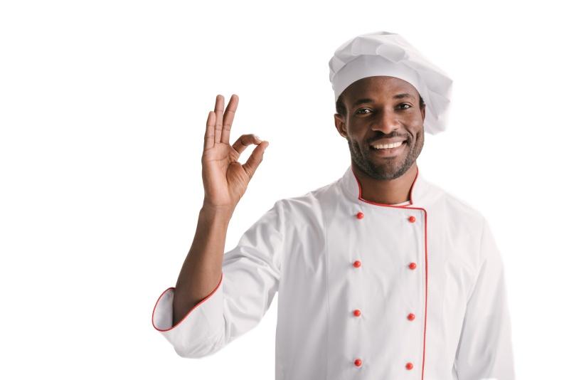 uniformes de cocina vichy